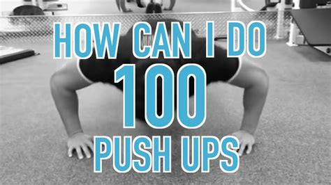 To 100 Push Ups by How To Do 100 Push Ups 2 Tips For More Push Ups
