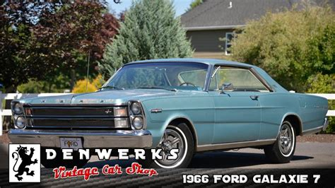 ford galaxie  litre  rare survivor fords