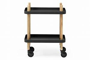 Block, Side, Table, White, By, Simon, Legald, For, Normann, Copenhagen