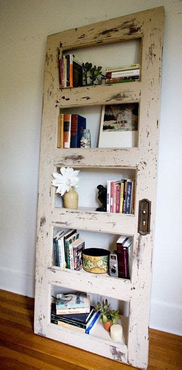 Repurposed Bookcase Worn Out