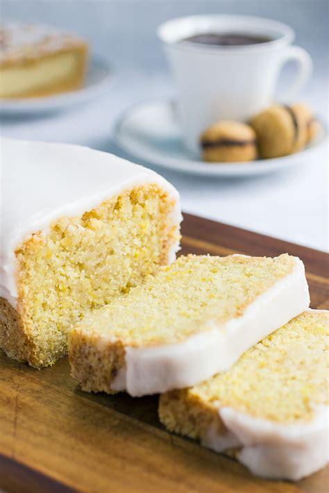 easy vegan lemon pound cake