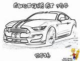 Coloring Pages Mustang Gt Cars Ford Muscle Shelby Fierce Colouring Boys Sheets Mustangs Truck Google Coloriage 1965 Sports Print Printable sketch template