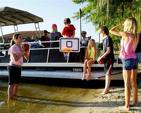 Pontoon Basketball Hoop by 35 Best Boatfun Basketball Images On