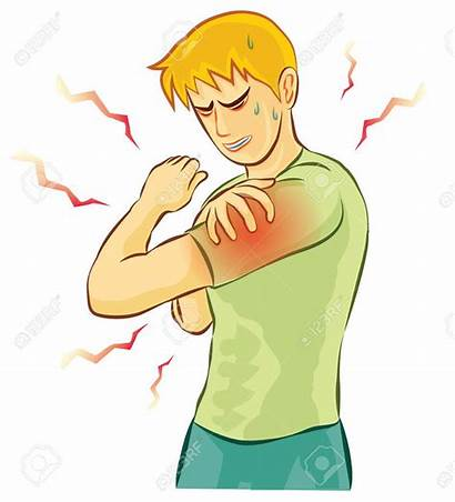 Clipart Muscle Arm Pain Hurts Sore Cramps