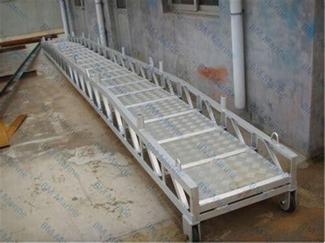 boat aluminium gangplank view gangplanks bm product