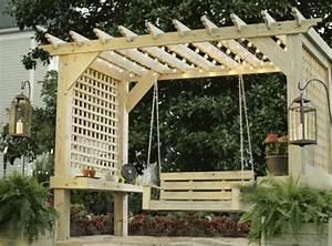 Construire Une Pergola En Bois : construire une pergola bois ~ Premium-room.com Idées de Décoration