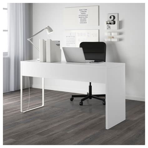 black and white desk l micke desk white 142x50 cm ikea