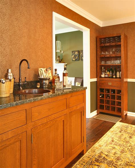Home Bar Cabinet With Sink by Bar Cabinets With Sink Basement Traditional With