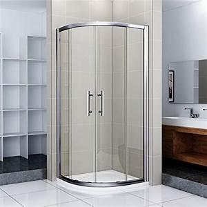 Duschkabine 90x90 Viertelkreis Radius 550 : 80x80x185cm duschkabine runddusche 550 radius duscht r viertelkrei duschabtrennung mit ~ Eleganceandgraceweddings.com Haus und Dekorationen