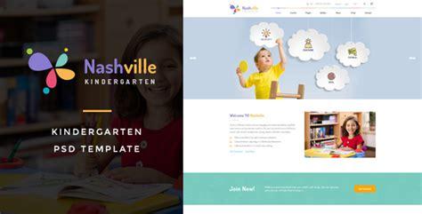 nashville preschool nashville kindergarten psd template by victorthemesnx 821