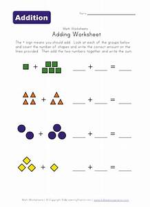 Math Simple Adding Worksheets