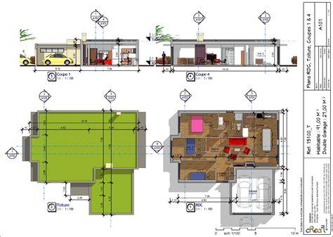 maison 3 chambres plain pied plan de maison plain pied moderne avec garage avie home