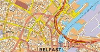 Maps of Belfast, Northern Ireland. - Free Printable Maps