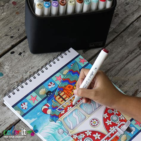 what are the best markers for adult coloring books colorit