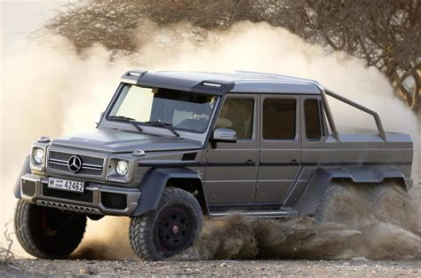 You'll receive email and feed alerts when new items arrive. Mercedes-Benz G63 AMG 6x6 to cost £380k | Autocar