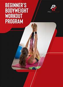 6 Week Beginner U0026 39 S Bodyweight Workout Program