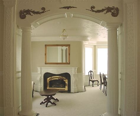 home interior arch designs pillar the column supporting the arch for the home