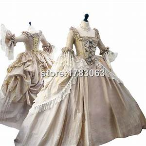 The ultimate rococo marie antoinette dress colonial for Robe coloniale