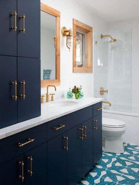colors  bathrooms  blue interior bathroom