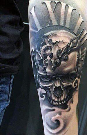 clock tattoo meanings custom tattoo design