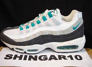 Nike Air Max 95 Sample White Emerald Green Grey