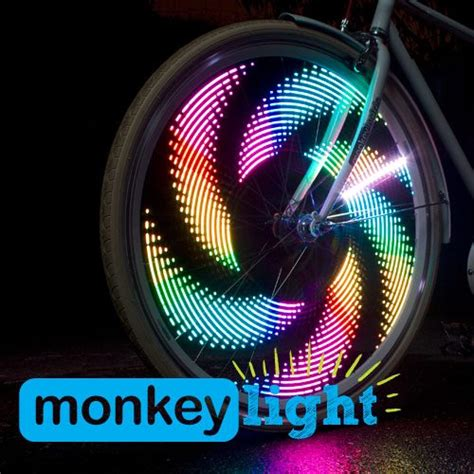 monkey bike lights monkeylectric monkey light m210 and m232 wheel light
