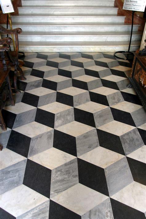 cool tile floors neat 3d floor tile design chris tingom flickr