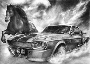 Shelby Mustang Drawings | www.pixshark.com - Images ...