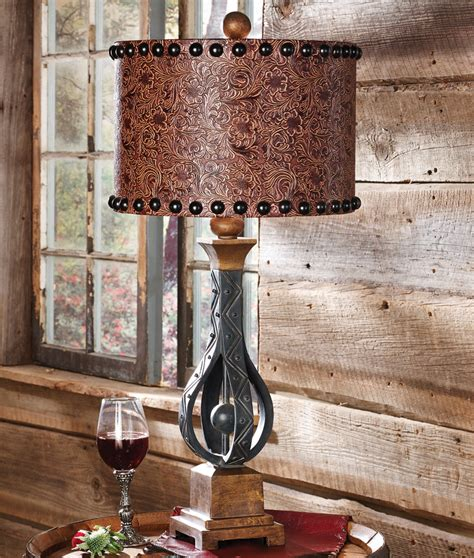 Black Home Decor Accessories by Rustic Table Lamps Sheridan Table Lamp Black Forest Decor