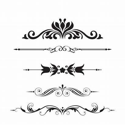 Dividers Divider Line Clipart Decorative Clip