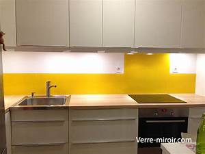 Pose Credence Verre : cr dence en verre laqu ~ Premium-room.com Idées de Décoration