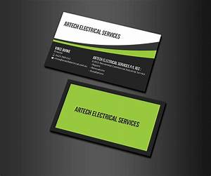 Electrical contractor business card examples best for Electrician business card ideas