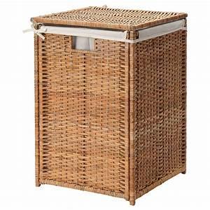 Bran, U00c4s, Laundry, Basket, With, Lining, -, Rattan
