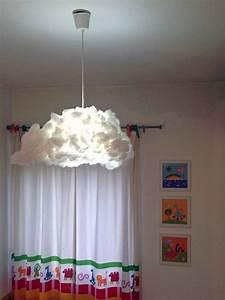 Abat Jour Nuage : lampe nuage diy neige sprays et lampes ~ Teatrodelosmanantiales.com Idées de Décoration