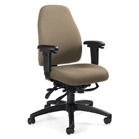 global 4432 obusforme low back multi tilter office chair