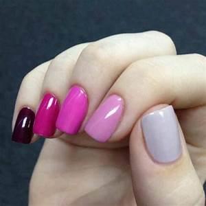 Ongles En Gel Rose : les tendances chez la d co ongles 62 variantes en photos ~ Melissatoandfro.com Idées de Décoration
