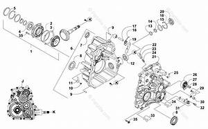Arctic Cat Side By Side 2015 Oem Parts Diagram For Transaxle Case  Cover Assembly
