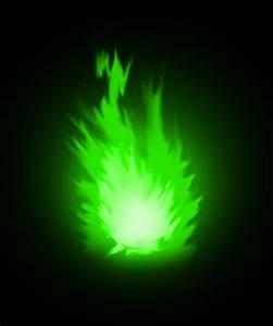 green fire by Nexeron on DeviantArt