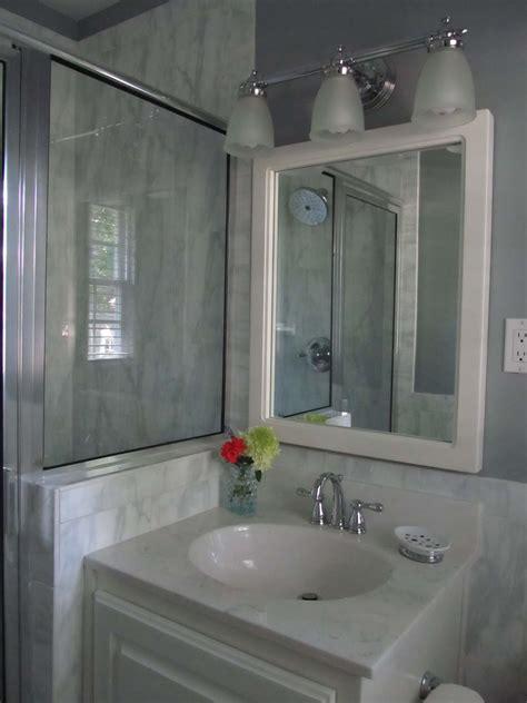 bath renovation sleek  modern
