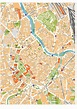 Vienna vector maps | Illustrator vector maps