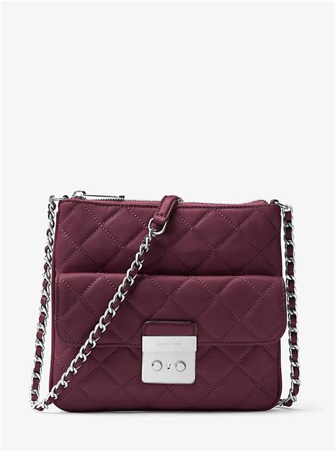 quilted crossbody bag michael kors sloan medium quilted leather crossbody bag
