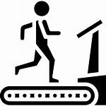 Treadmill Icon Getdrawings Fitness