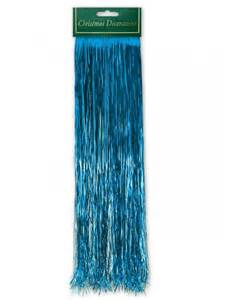 lametta blue tinsel icicles 48cm carnival pinterest products reindeer and blue