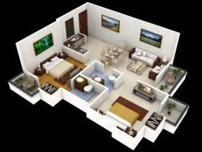 ideas for small bedrooms planos de departamentos dos dormitorios construye hogar