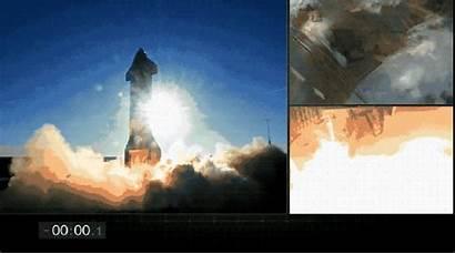 Spacex Starship Landing Rocket Its Explosive Finale