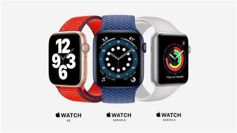 Apple Watch Series 6 and SE - Differences, missing ...