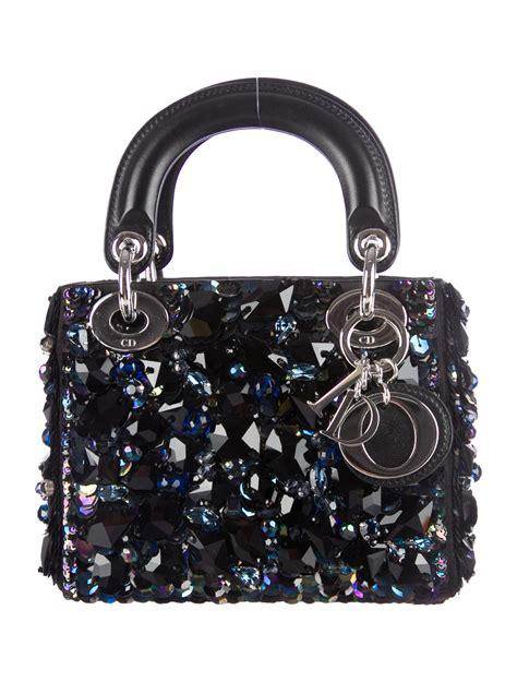 christian dior mini lady dior bag handbags chr  realreal