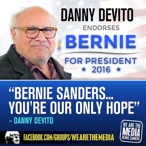 Pro Bernie Sanders Memes - danny devito2 png memes 4 bernie