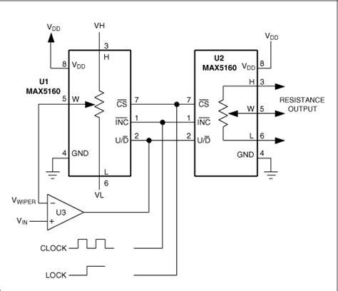 Digital Pots Achieve Voltage Resistance Conversion