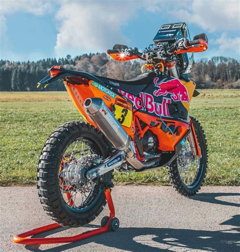 ktm  rally red bull factory racing